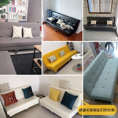 新款新品沙发床两用可折叠多功能小户型卧室客厅布艺懒人沙发床简