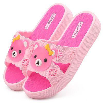 韩版凉拖鞋女士高跟松糕跟室外坡跟居家厚底拖鞋女夏时尚外穿