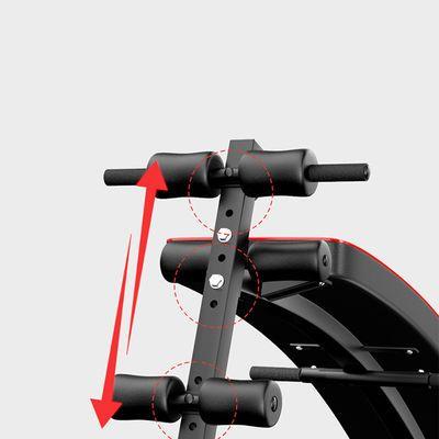 新款仰卧起坐健身器材家用男腹肌板运动辅助器收腹多功能仰卧板哑