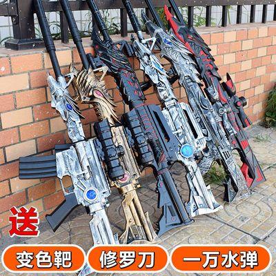 新款新品电动连发水弹枪穿越火线M4A1雷神巴雷特狙击枪暗杀星黑骑