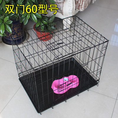 新款泰迪狗笼子小型犬博美贵宾折叠狗狗笼子鸡笼子兔子笼鸽子笼猫