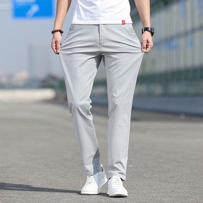 畅销南极人2020新款休闲裤男宽松直筒裤子百搭西裤男士夏季超薄款