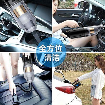 热卖爆款无线车载四合一吸尘器家用便携充电充气泵车内强力汽车专