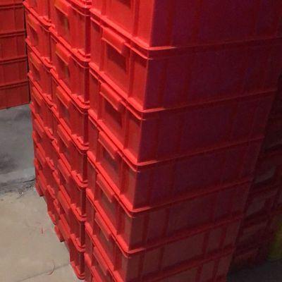 赚人气周转箱储物箱物流箱塑料框收纳箱塑胶箱整理箱邮包邮