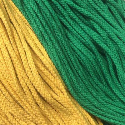 5毫米彩色粗棉绳子抽拉束口绳捆绑钩地毯手工DIY编织棉线绳挂毯