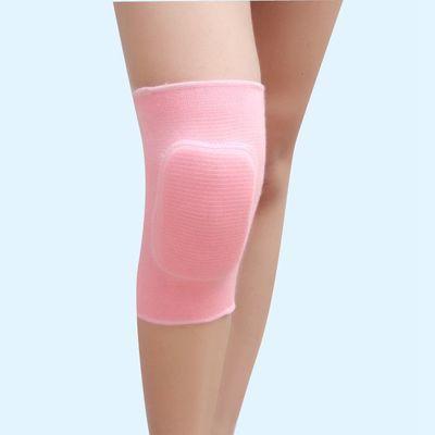2020新款全棉儿童舞蹈护膝运动排球跳舞足球溜冰护肘防撞加厚海绵