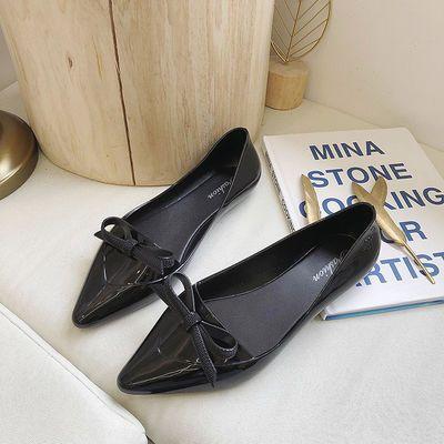 雨鞋女成人低帮浅口雨靴时尚防水鞋厚底防滑厨房工作水靴胶鞋套鞋