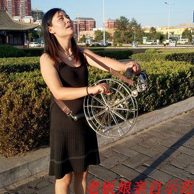 风筝线轮风筝背带轮不锈钢轮特大大型风筝新款成人高档风争收线轮