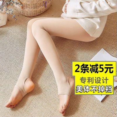 新款孕妇打底裤春秋孕妇丝袜薄款春季打底裤袜夏季加绒竖条纹光腿