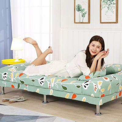 懒人折叠沙发床两用多功能三人位简约小户型客厅租房简易布艺沙发