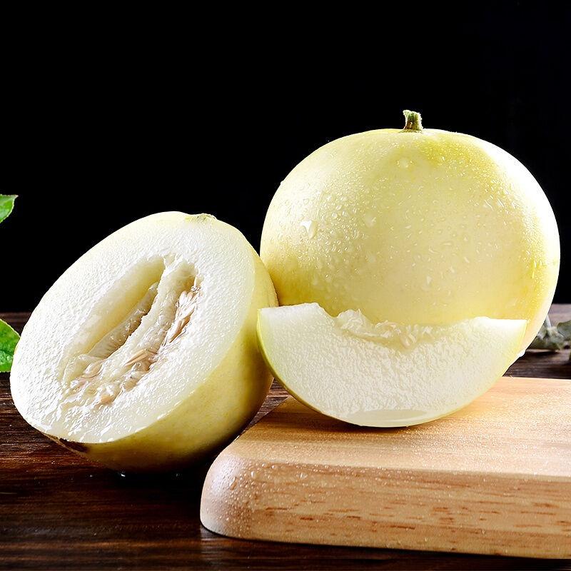趣彩果 当季现摘 白皮甜瓜 2~3斤