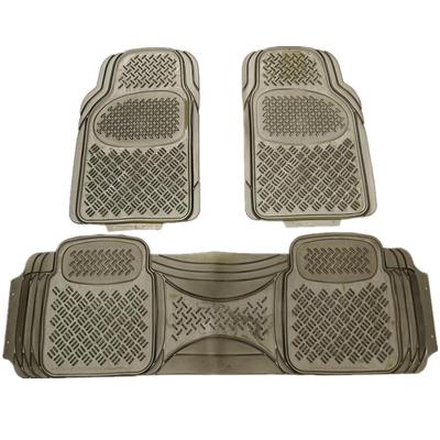 特价加厚通用型汽车脚垫防水防滑防冻车用PVC透明乳胶塑料脚垫
