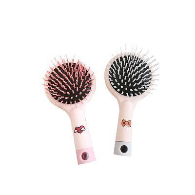 韩国可爱小黄鸭随身携带带镜气囊梳美发梳气囊按摩梳创意小梳子女