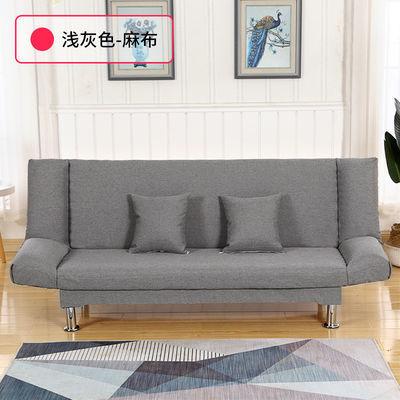 懒人沙发床两用可折叠小户型小沙发卧室单双三人简易多功能出租房