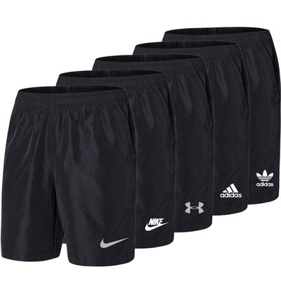 夏季短裤男青年学生薄款运动健身透气宽松休闲速干大码胖子五分裤