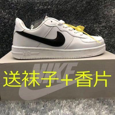 aj1空军一号男鞋韩版休闲学生板鞋高低帮百搭运动鞋情侣小白鞋女