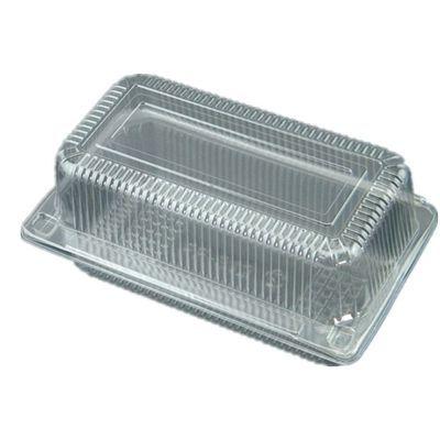 312一次性透明西点蛋糕大号004长方形吸塑烘焙包装盒糕点蔬菜盒