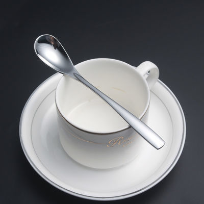 不锈钢咖啡勺子创意长柄搅拌勺韩国咖啡勺可爱小勺甜品奶茶小调羹
