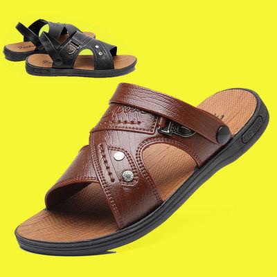 男士凉鞋学生韩版潮流2020新款开车凉拖鞋子男夏季越南运动沙滩鞋