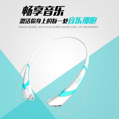 爆款梦初音未来miku概念动漫无线蓝牙耳机颈挂式狂三蕾姆二次元周