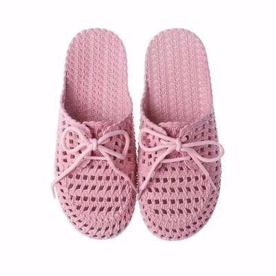新款夏季包头平底洞洞鞋居家室内外凉拖鞋女懒人时尚学生沙滩拖