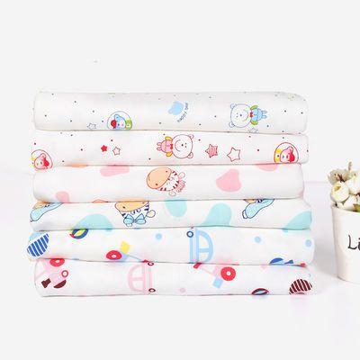 纯棉宝宝针织布料精梳卡通秋衣裤布料婴儿服装包被床单A类面料
