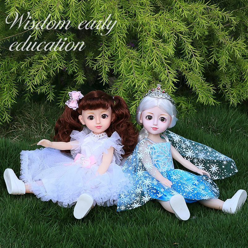 会说话的智能怡甜芭比洋娃娃套装仿真女孩儿