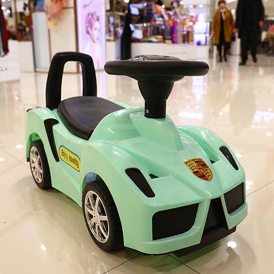 新款法拉利多功能儿童扭扭车1-3岁宝宝滑行车四轮带音乐溜溜车玩