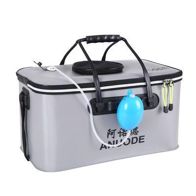 钓鱼桶加厚水桶eva装鱼桶鱼护桶活鱼桶折叠钓箱多功能装鱼桶包邮