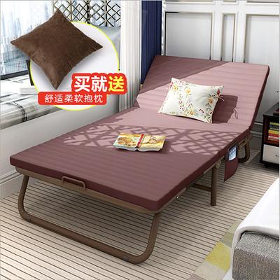 简易方便折叠床单人办公室午休床躺椅双人午睡床行军床陪护床成人