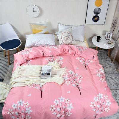 被套单件加厚磨毛被单学生宿舍1.5米1.8m200X230双人被罩单人床罩