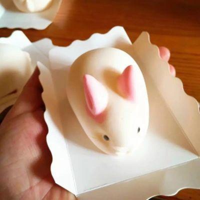 【不沾蛋糕模具】网红小兔子布丁硅胶立体奶冻果冻雪糕慕斯小白兔