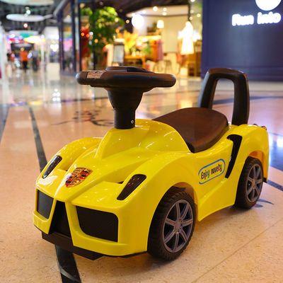 新款法拉利多功能儿童扭扭车带音乐宝宝滑行车1-3岁溜溜玩具车初