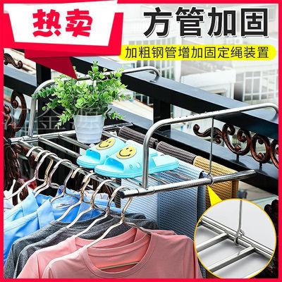 不锈钢窗外阳台晾晒架窗台晒鞋架折叠挂暖气片架子窗户小型晾衣架