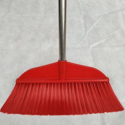 颜色随机软毛扫把家用单个加长不锈钢长柄塑料扫地笤帚不易粘头发
