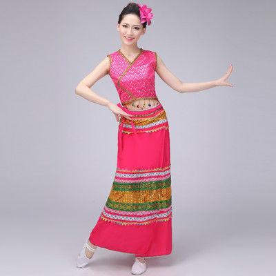 缅甸服装新款性感蕾丝衫+蕾丝长裙傣族泼水节服装时尚新款女装