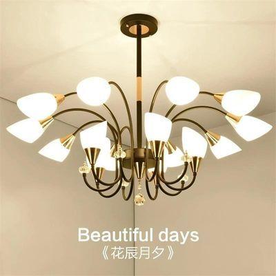 后现代简约客厅吊灯创意欧式卧室灯轻奢大气家用餐厅灯具北欧吊灯