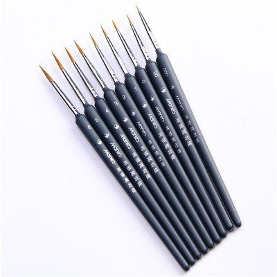 马利勾线笔 狼毫勾线笔 手绘水彩水粉国画描线画笔美甲油画笔