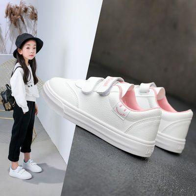 热销童鞋女童小白鞋2020新款春季儿童运动鞋男孩女孩单鞋学生百搭