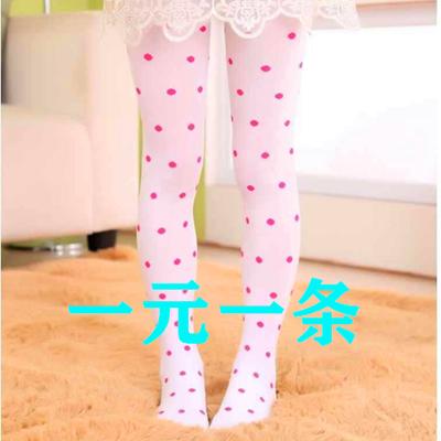 儿童连裤袜春秋中厚女童打底裤薄款丝袜子白色夏季练功专用舞蹈袜