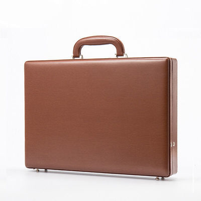 质量超好公文箱复古手提箱高端商务密码箱装钱箱公文包文件箱电脑