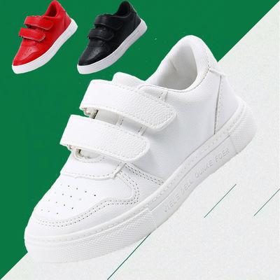 热销儿童小白鞋子2020春季透气小童板鞋小学生宝宝鞋男童女童鞋运