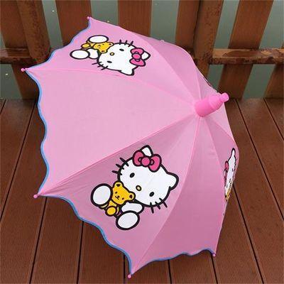 奥特曼儿童雨伞女公主伞男女孩幼儿园宝宝长柄小学生半自动晴雨伞