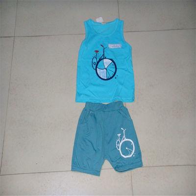 短袖运动套装背心短裤宝宝婴儿1-2-3-4岁特价清仓童装夏装男女童