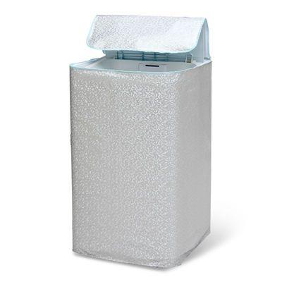 加绒铝膜洗衣机罩前侧开上开防水防晒型海尔小天鹅美的三星三洋LG