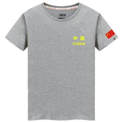 战友聚会带国旗的军人中国八一战友聚会短袖翻领t恤男定制衣服装