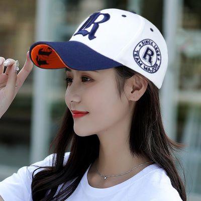 帽子女韩版学生夏季太阳帽防晒遮阳帽春秋款棒球帽新款女士鸭舌帽