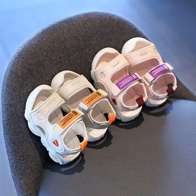 女宝凉鞋包头婴儿学步鞋亮灯软底防滑夏季小童女宝宝幼儿男童鞋子