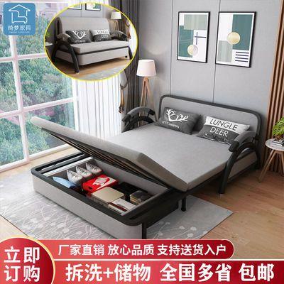 沙发床两用多功能折叠双人单人出租房小沙发卧室迷你懒人简易沙发