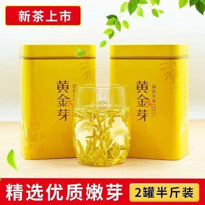 特级珍稀黄金芽茶叶2020年明前新茶春茶高山绿茶安吉白茶袋装盒装